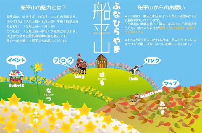 船平山ホームページ